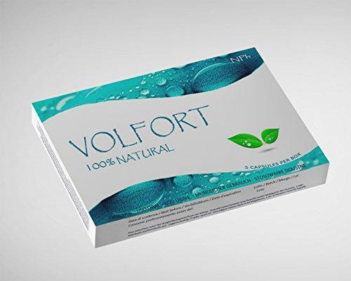 VOLFORT (10 Kapseln) Potenzmittel für Männer - natürliche Lust - und Libidosteigerung - Leistungsstark - 100% natürlich und pflanzlich - 2
