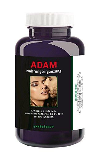 ADAM – yesBalance | Wirkstoffe für den Mann - 120 Kapseln