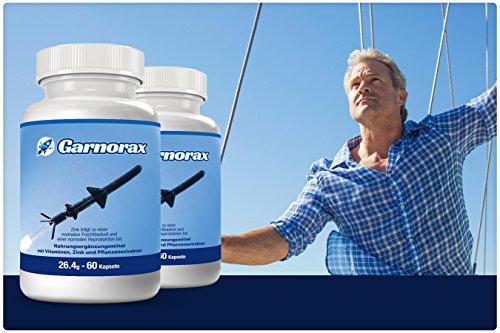 Nathans Natural Garnorax Nahrungsergänzungsmittel mit Vitaminen, Zink und Pflanzenextrakten, 26.4g (60 Kapseln) - 4