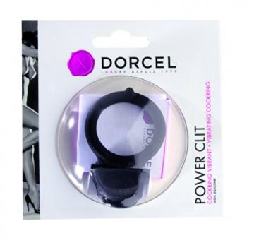 Dorcel Power Clit, flexibeler Penisring, Cockring mit Klitorisstimulator, 100% Silikon, Durchmesser 3,2cm - 2
