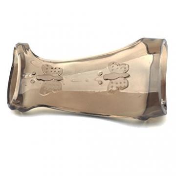eeddoo® Premium Penis Sleeve - Manschette zur Penisvergrößerung & Erektionssteigerung - Cockring - Penis Ring Extension - Schwarz (Penishülle Extender Eichel Enhancer Verzögerung Sex Männer Frauen) -