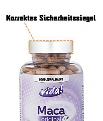 Maca Root (Maca-Wurzel) 2000mg - Das Originale Produkt und Beste Qualitat (150 vegetarische Kapseln) -