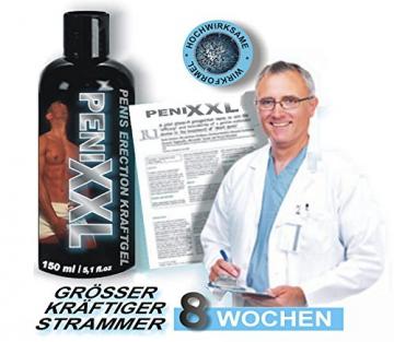 PENIS ERECTION KRAFTGEL * Voluminisierendes, Penis Erektiongel 150 ml -