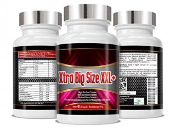 Xtra Big Size XXL - natürliches Potenzmittel - Penisvergrösserung - Für ein erfülltes Sexualleben - Mehr und stärkere Orgasmen - Penis Extension -